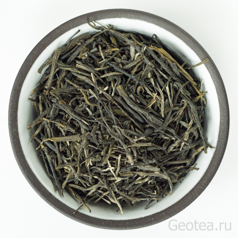 """Чай Зеленый Сун Чжень Высокосортный """"Сосновые иглы"""""""