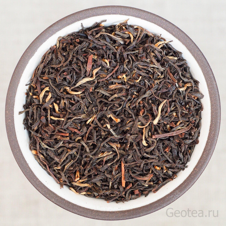 Чай Черный Ассам Gold Tips, индийский