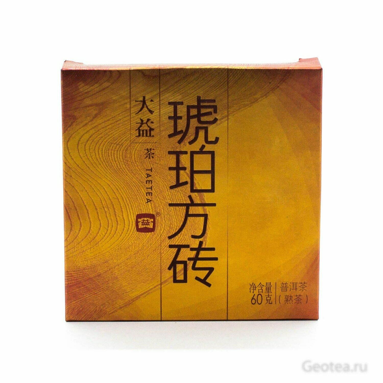 Чай Шу Пуэр Да И Хупо фанча  60гр.