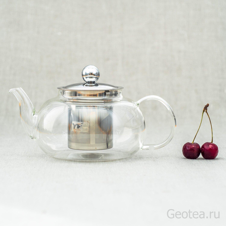 Чайник с ситом 800 мл.