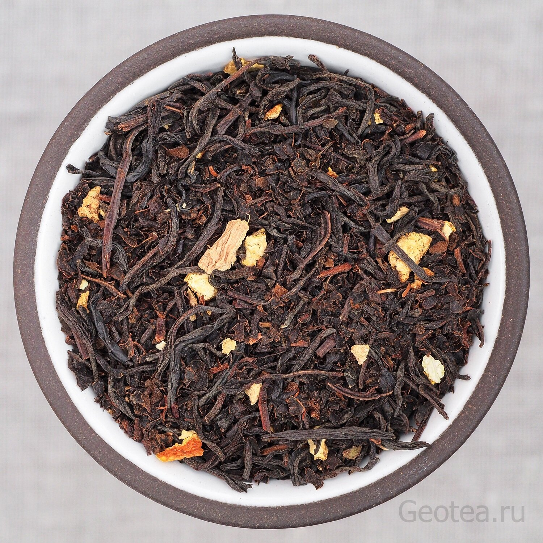 """Чай Черный """"Имбирный чай"""""""