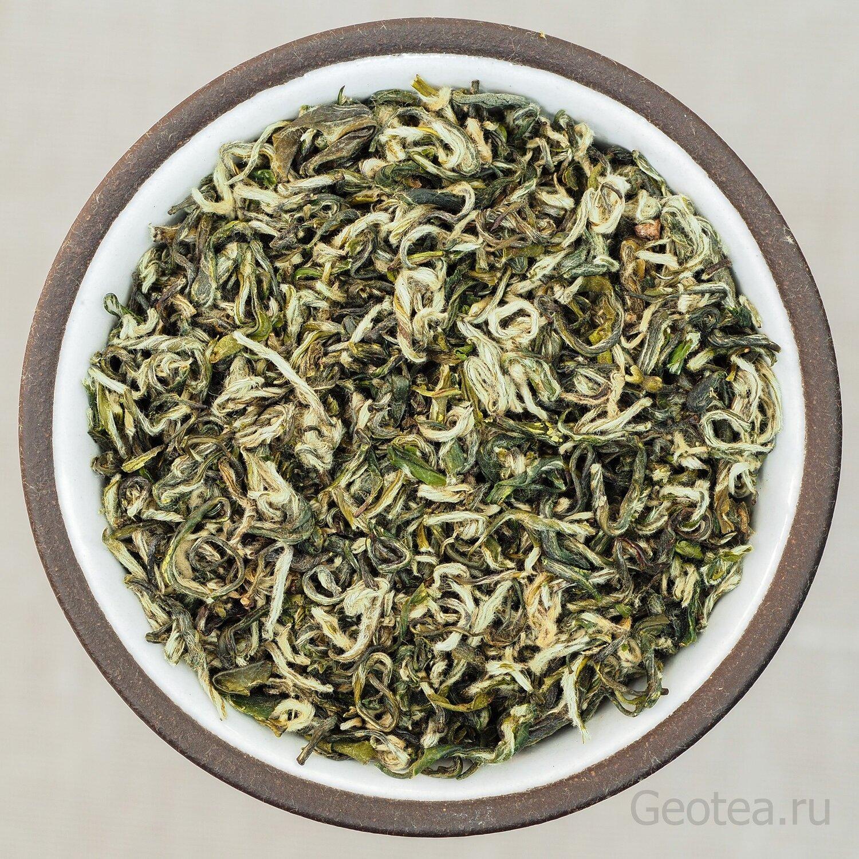"""Чай Зеленый Би Ло Чунь """"Изумрудные спирали весны"""""""