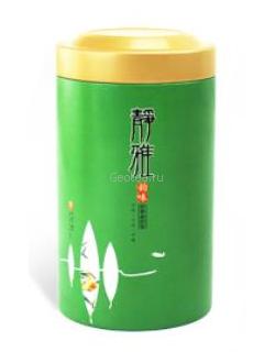 Банка для чая, зеленая