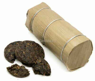 Чай Шу Пуэр Минибин в бамбуке 250гр.,