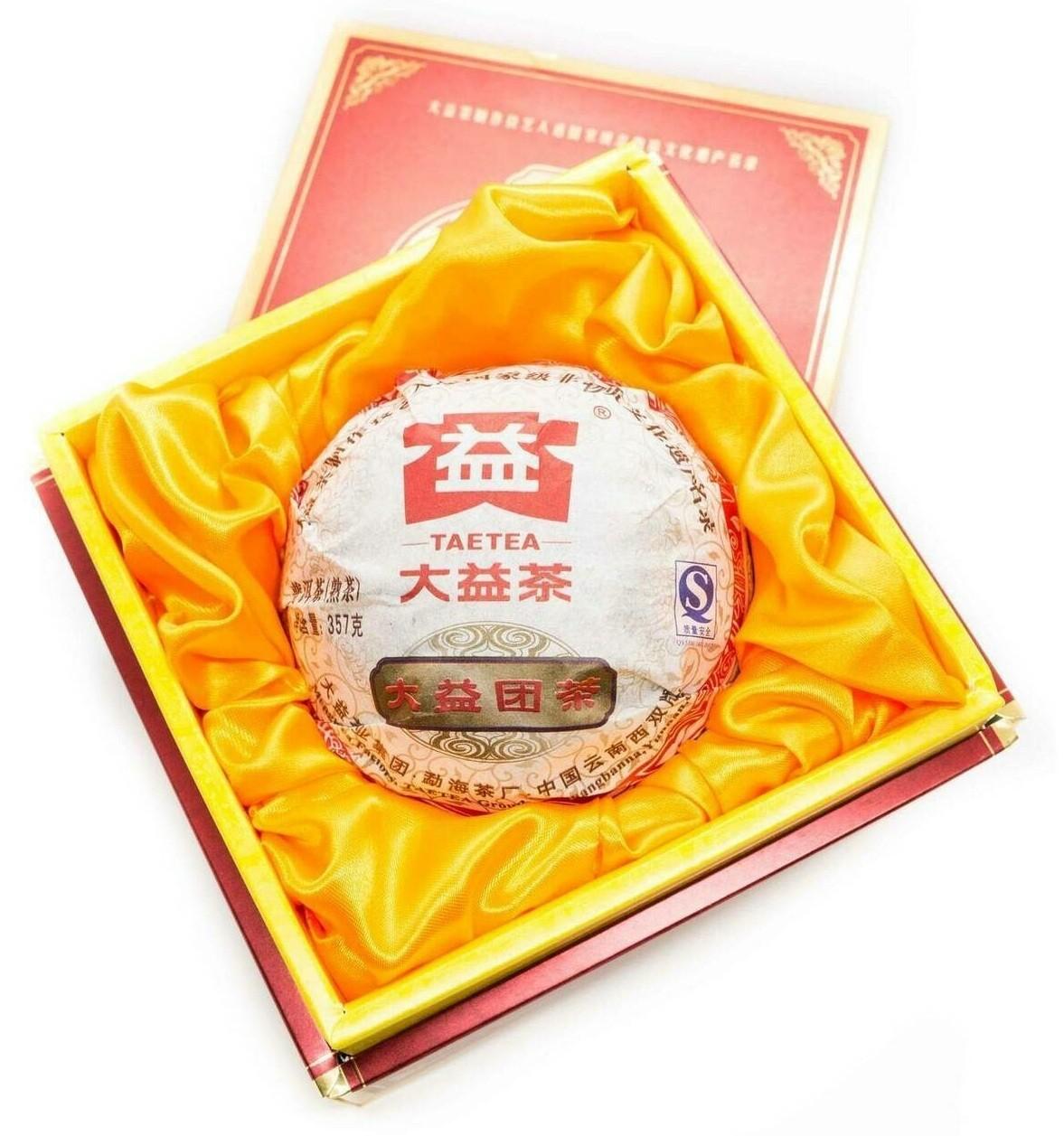 """Чай Шу Пуэр Да И """"Туаньча"""" 357гр."""