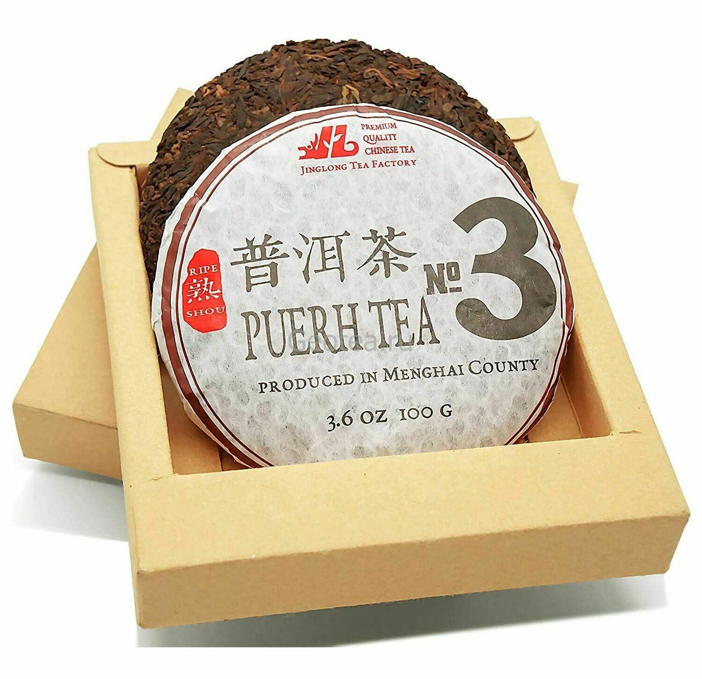 Чай Шу Пуэр #3 2019г. 100гр.