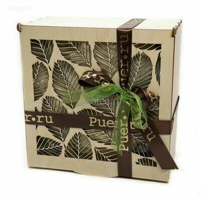 Подарочный чайный набор в шкатулке