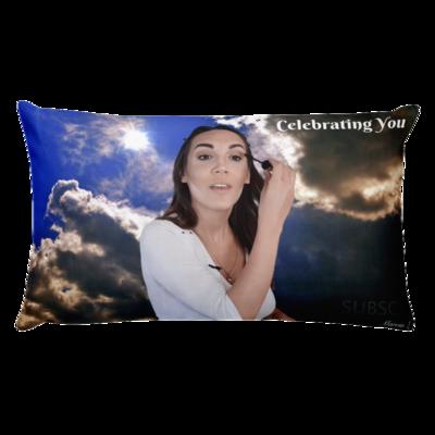 Celebrating You Designer Basic Pillow