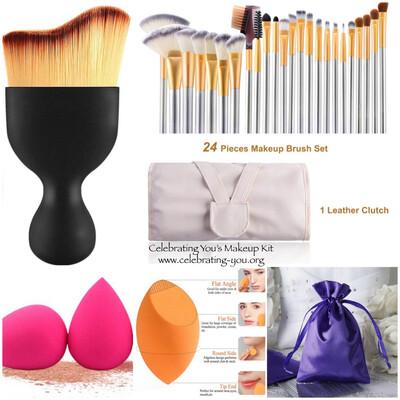 Celebrating You 30 Piece Model's Travel Makeup Kit