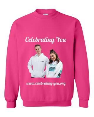 Celebrating You Customizable Adult Crewneck Sweat Shirt