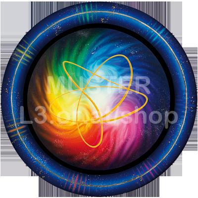 Amirasolis Energiescheibe - Heilenergie der Zentralsonne mit Akaija Symbol