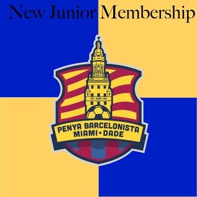 New Junior Membership