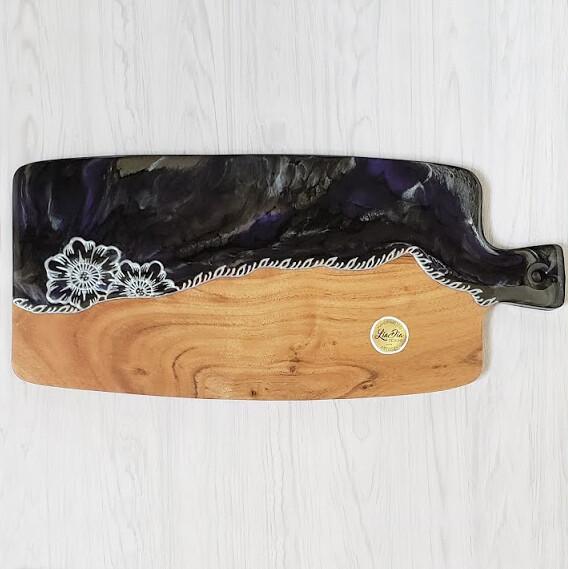 Purple Moonlight Cheese Paddle Board