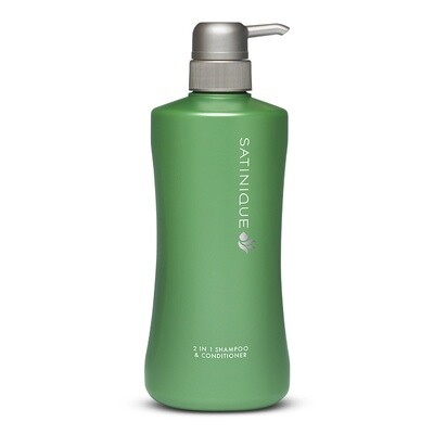 2 in 1 Shampoo & Conditioner SATINIQUE™