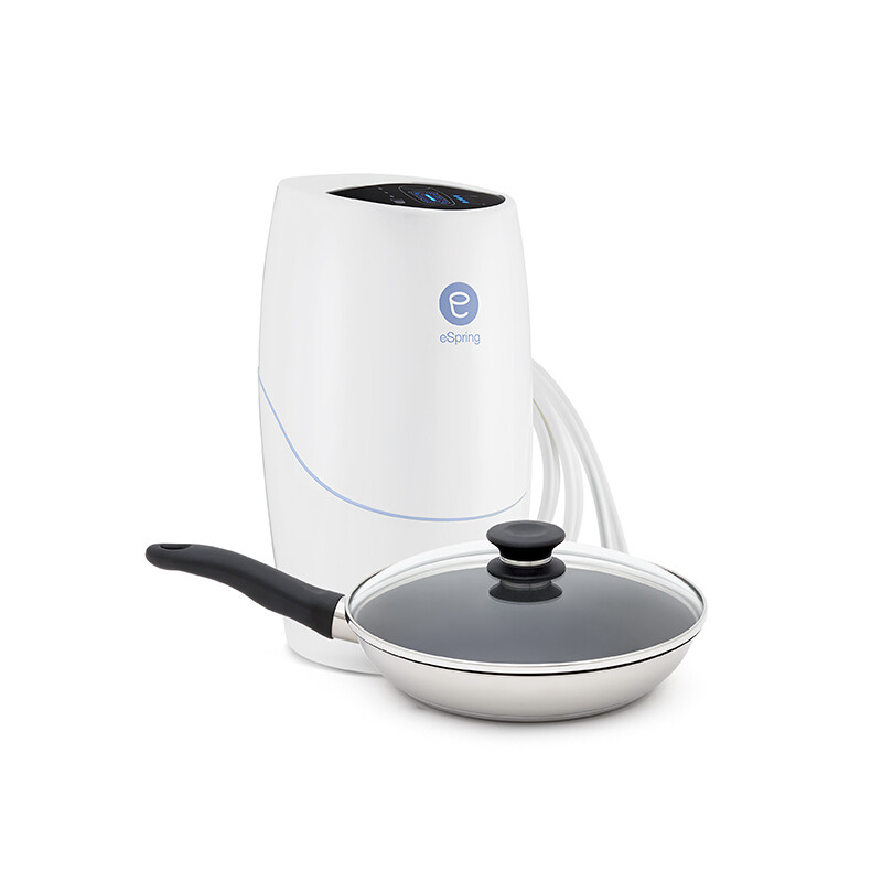 eSpring™ Water Treatment System with existing Tap (+ iCook™ Non-Stick Pan 25 cm for free)