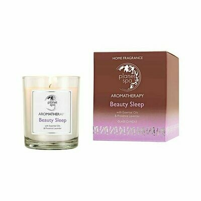 Planet Spa Aromatherapy Beauty Sleep Glass Candle