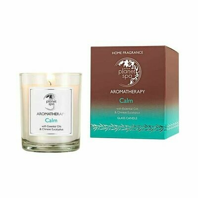 Planet Spa Aromatherapy Calm Glass Candle