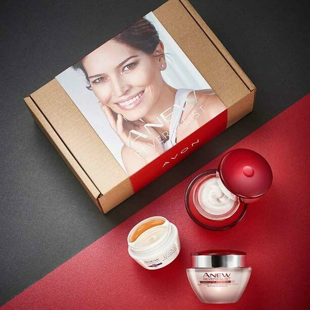Anew Reversalist Day, Night and Eye Cream Skincare Set