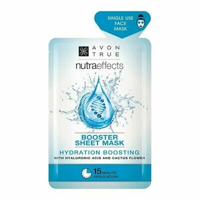 Avon True Nutra Effects Hydration Boosting Sheet Mask