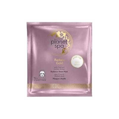 Planet Spa Radiant Gold Sheet Mask