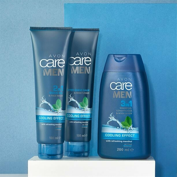 Avon Care Men Cooling Effect Trio