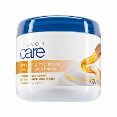 Avon Care Yoghurt and Honey Multipurpose Cream - 400ml