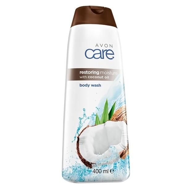 Avon Care Restoring Moisture with Coconut Oil Body Wash - 400ml