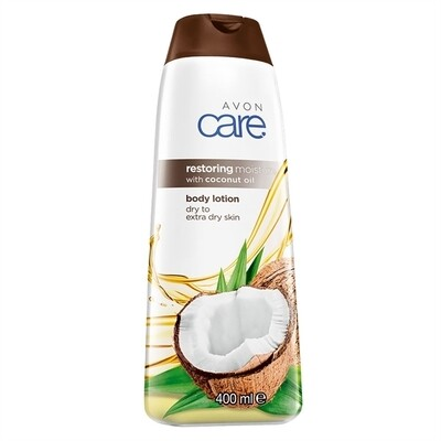 Avon Care Restoring Moisture with Coconut Oil Body Lotion - 400ml