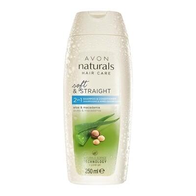 Aloe Vera & Macadamia Shampoo & Conditioner - 250ml