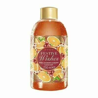 Festive Wishes Cranberry & Orange Bubble Bath - 250ml