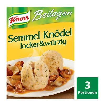 Knorr Semmelknödel im Kochbeuteln