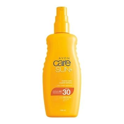 Quick Dry Clear Sun Cream Spray SPF30 - 150ml