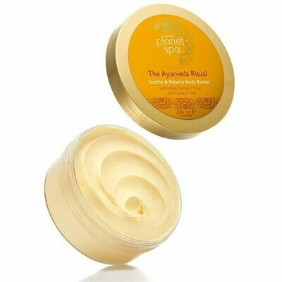 Planet Spa The Ayurveda Ritual Soothe & Balance Body Butter - 200ml