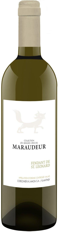 Fendant de St. Léonard  Valais AOC les grands vins du Maraudeur