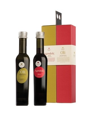 Set Olivenöl und Weinessig Finca Mas d'en Gil
