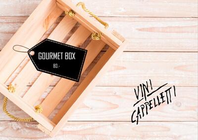 Gourmet Geschenkbox ohne Wein