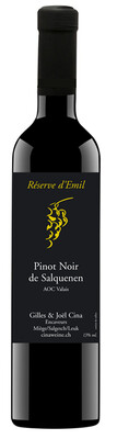 Réserve d'Emil Pinot Noir de Salquenen Valais AOC