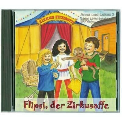 Flipsi, der Zirkusaffe CD (3)