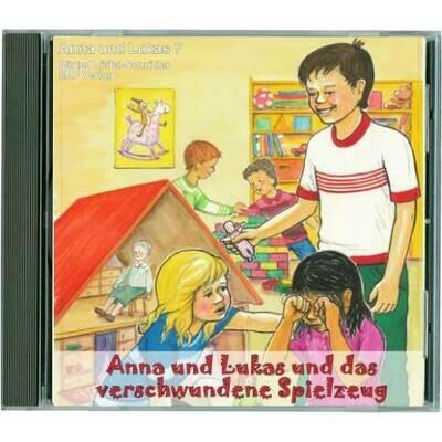 Anna und Lukas und das verschwundene Spielzeug CD (7)