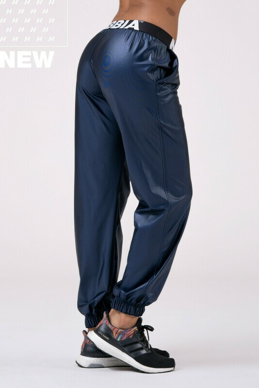 Брюки Sports Drop Crotch pants 529 Синие