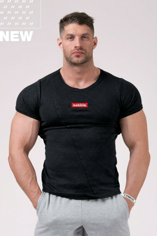 Футболка Red Label Muscle Back T-shirt 172 Черная