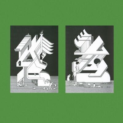 Набор открыток «Наблюдатели»