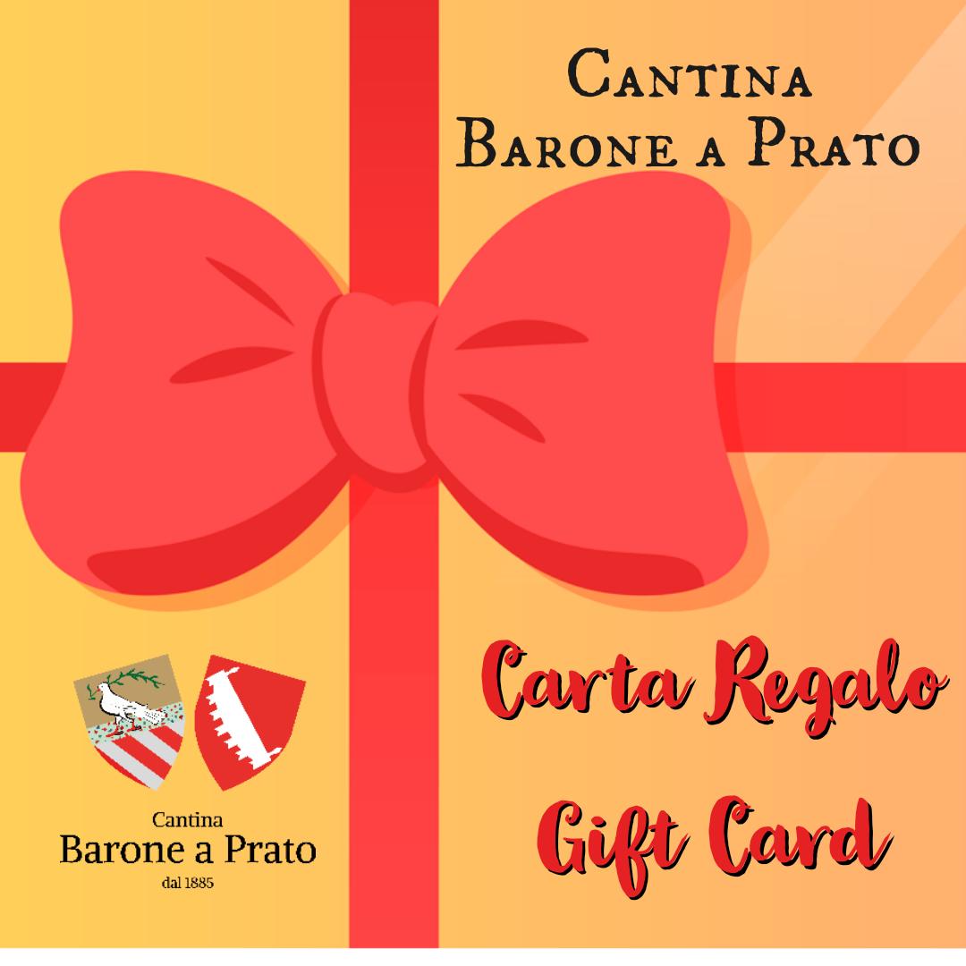 Carta regalo Barone a Prato