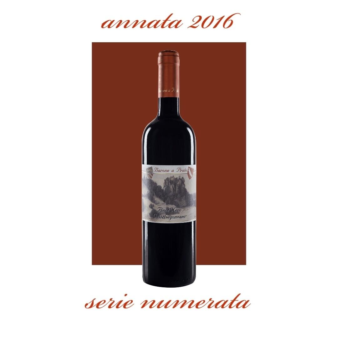 12 bottiglie Pinot Nero 2016, Castelsegonzano