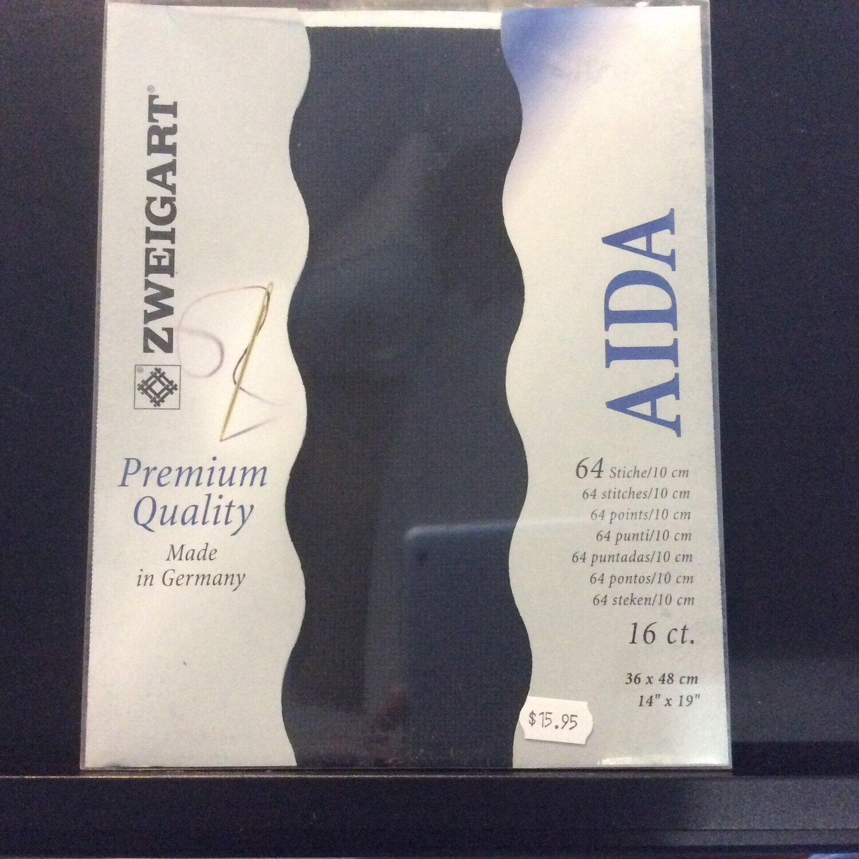 Aida 16ct PreCut Black (PC3251.720)