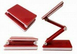 Triumph Rechargeable Folding LED Desk Lamp Red (OD188.R)