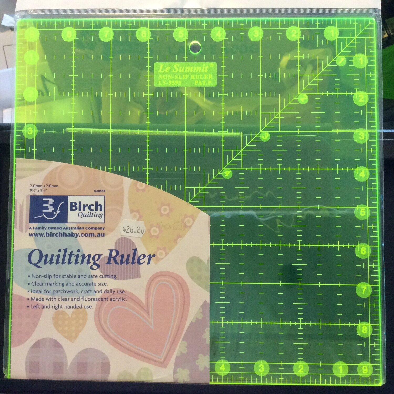 """Birch Quilt Fluoro 9.5""""sq"""