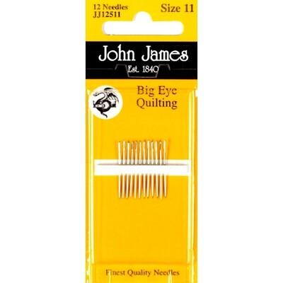 John James Quilting #11 Big Eye pkt (JJ12511)