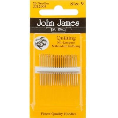 John James Quilting #10 pkt (JJ12010)