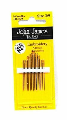 John James Embroidery #05/10 pkt (JJ13550)